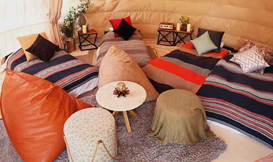 全室『冷暖房』完備で快適な客室